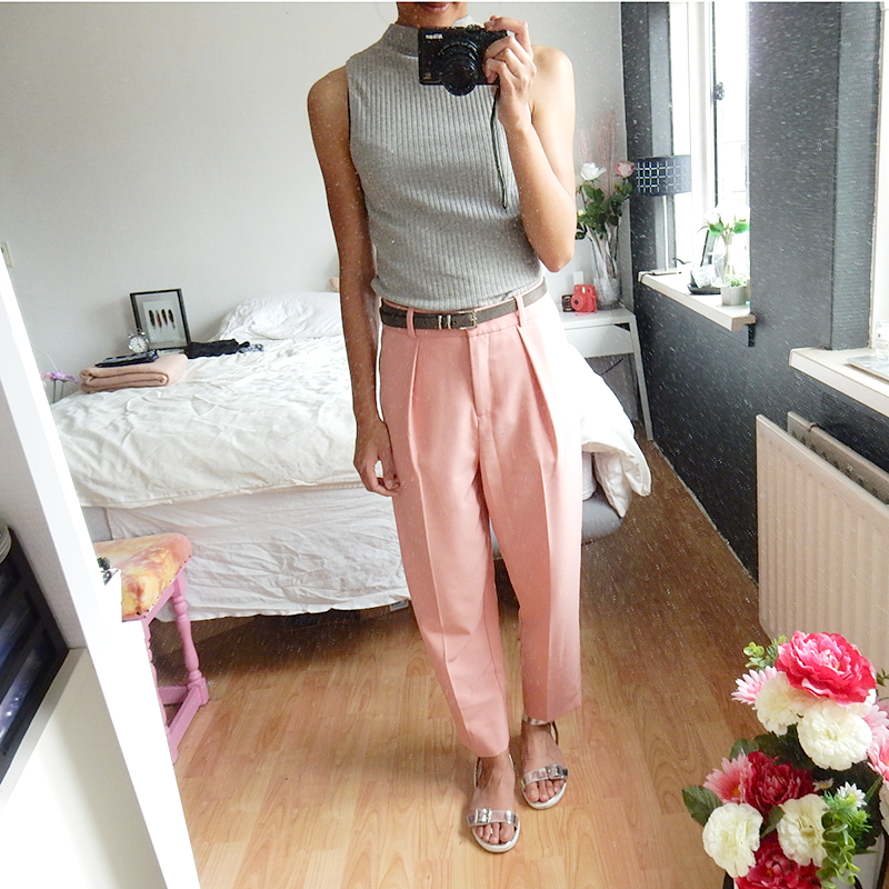 Outfit Roze pantalon 2