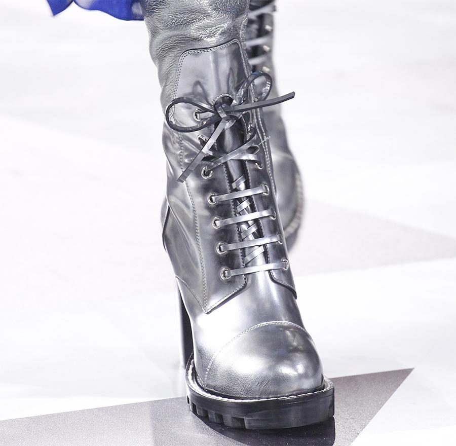 Schoenen trends 2016 - Metallic schoenen