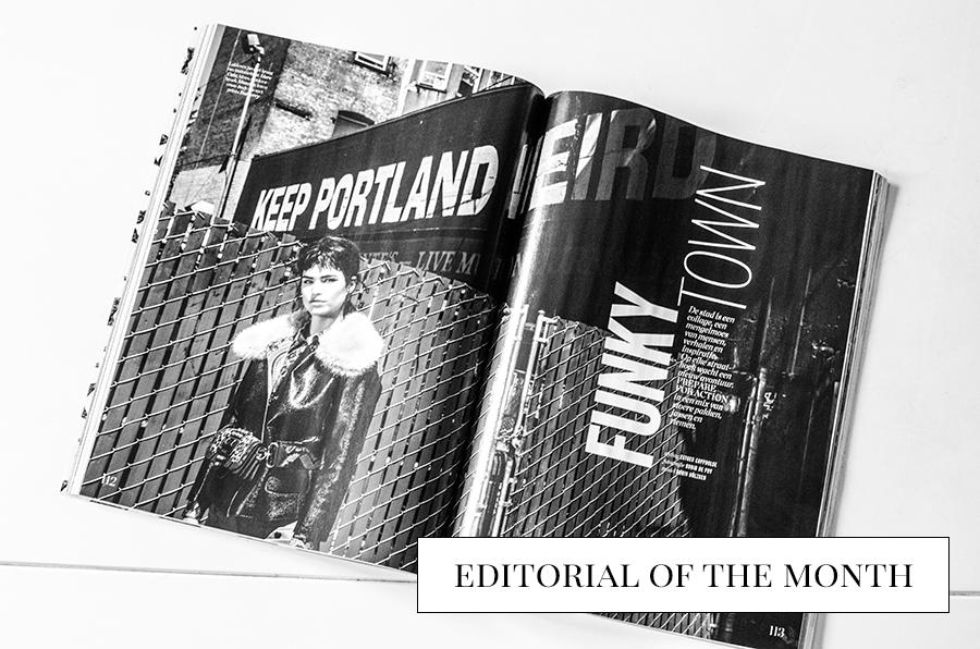 Favourite fashion editorial Elle September 2016
