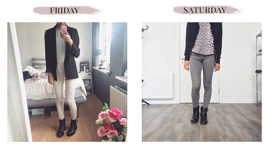 Outfit diary #12 Vrij & Zat