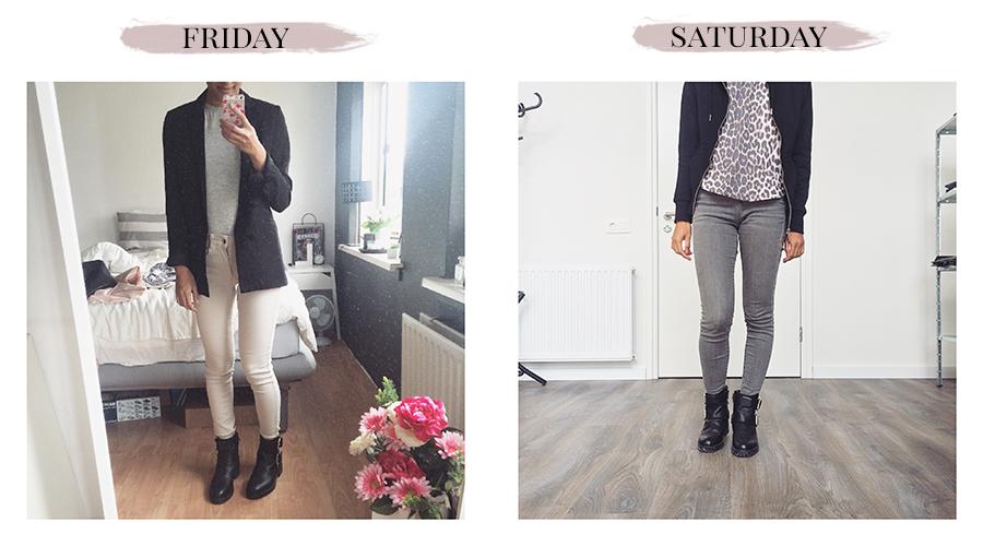 Outfit diary #12 Vrij & Zat