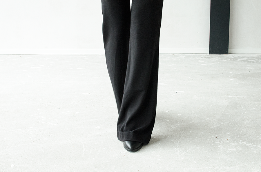 Outfit flared jazz pants