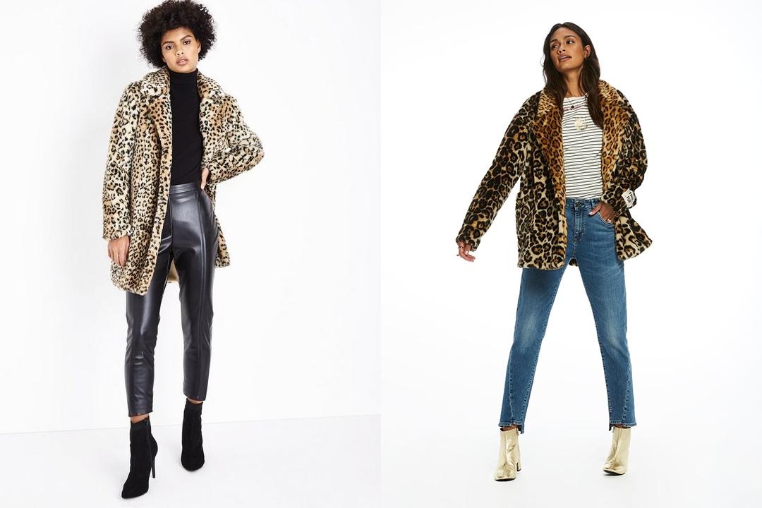 Trend luipaard jas