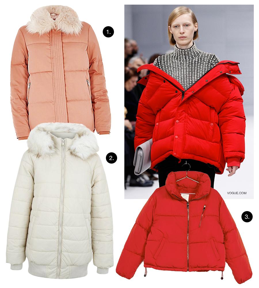 Trend puff jacket