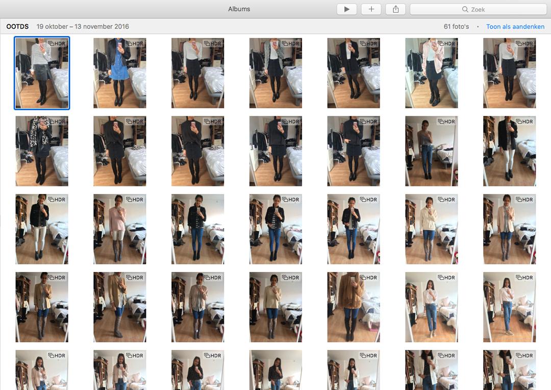 Je eigen outfit database