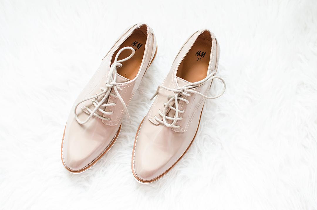 Nieuwe platform schoenen H&M