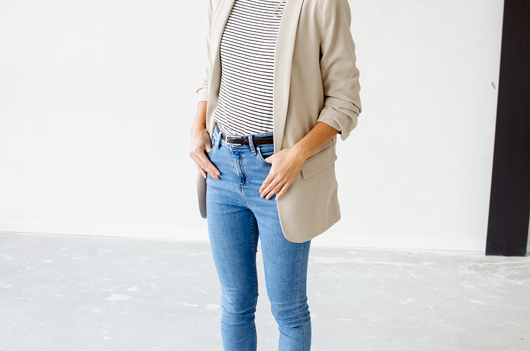 Outfit | Non black outfit in fall