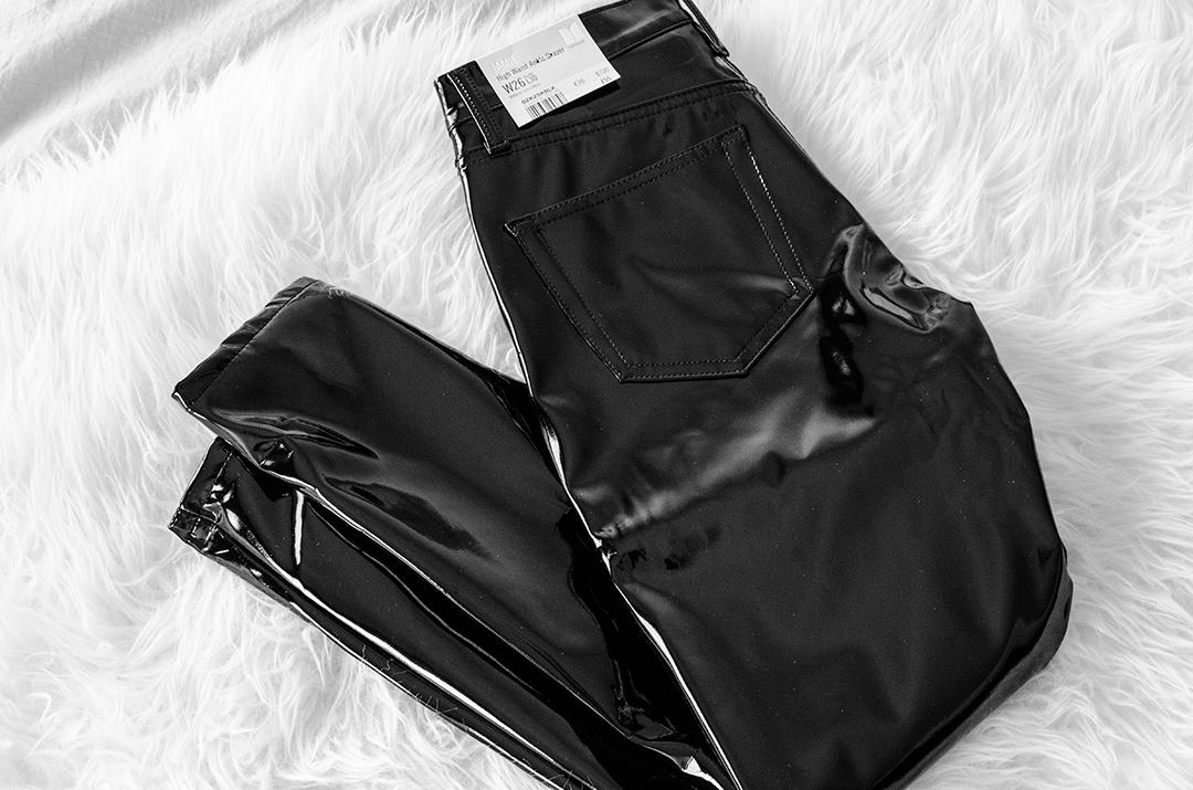 Nieuw | Lakleer broek Topshop