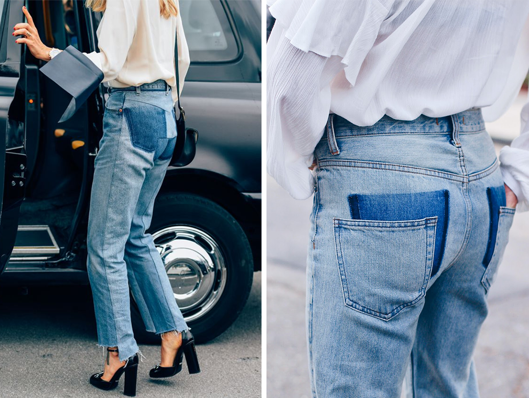 Jeans trends 2017 Deconstructed jeans