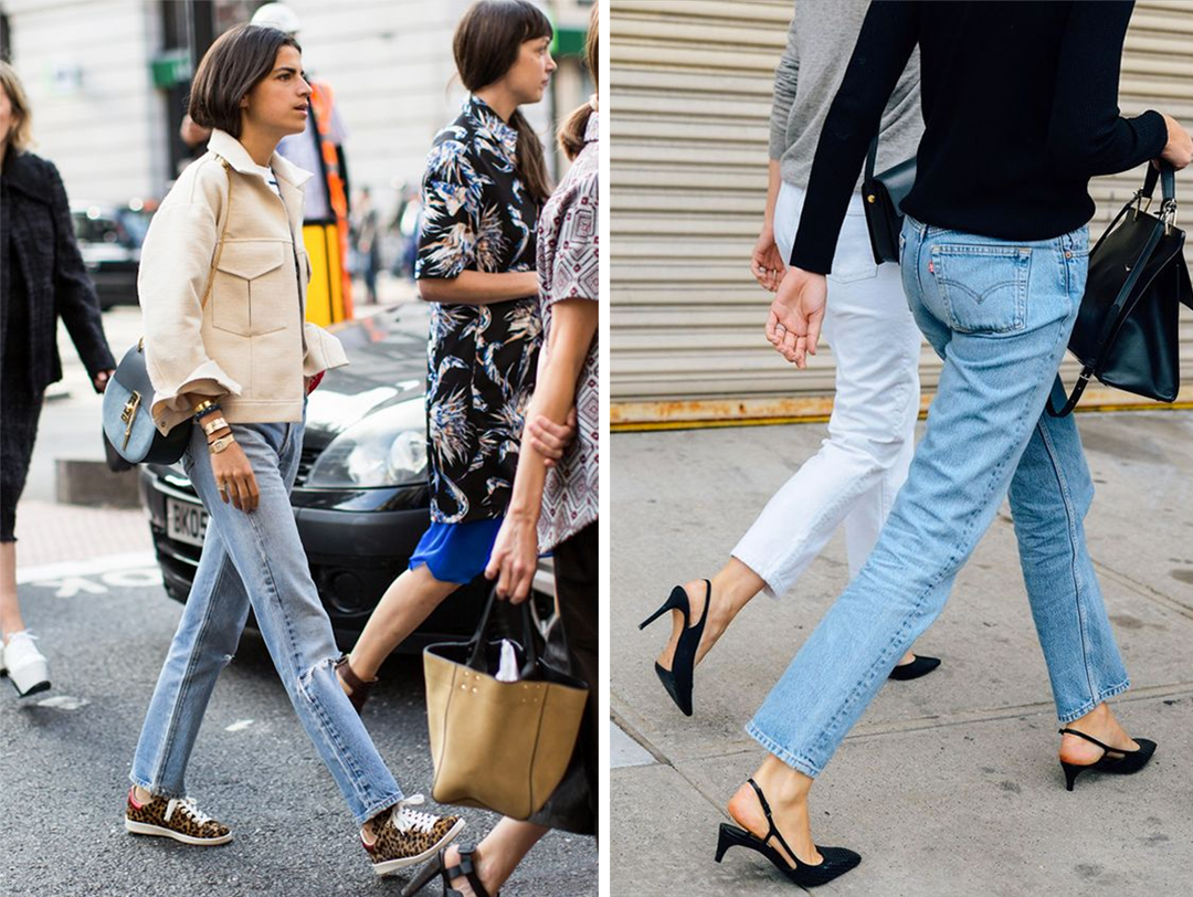 Jeans trends 2017 Straight leg jeans