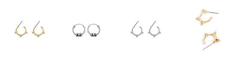 Minimalistische oorbellen - Lana's Sieraden