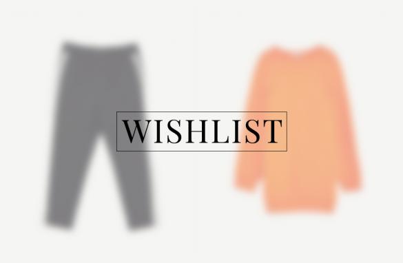 Lente wishlist