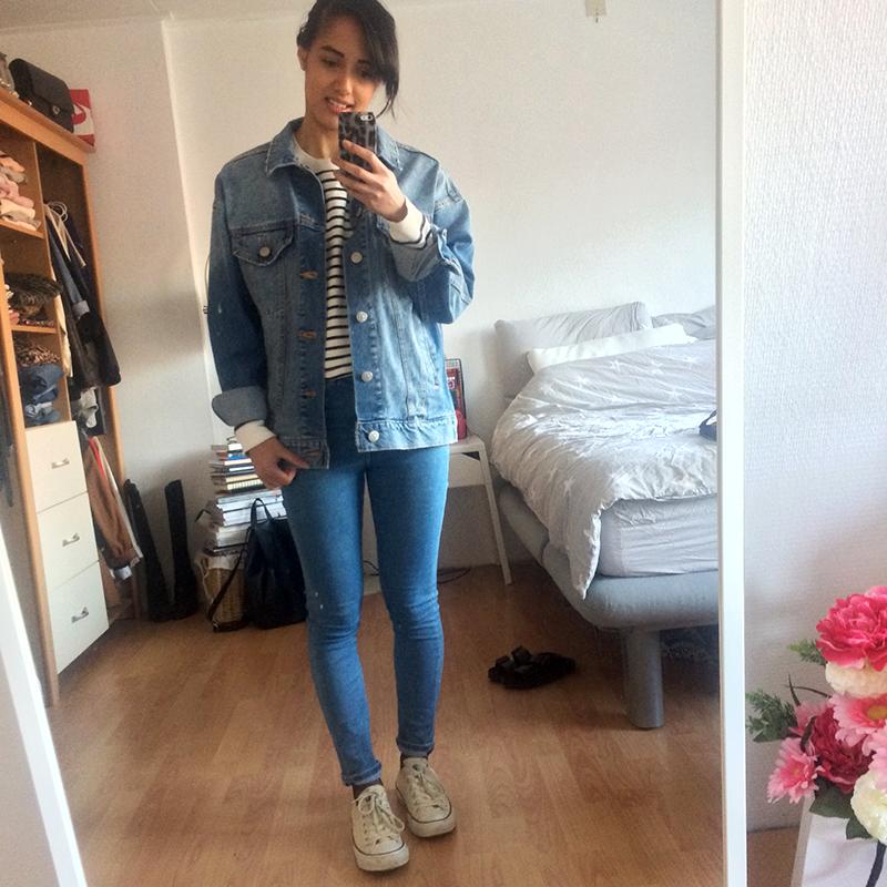 Outfit diary zaterdag