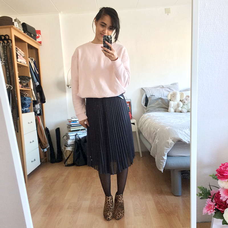 Outfit diary 15 zondag