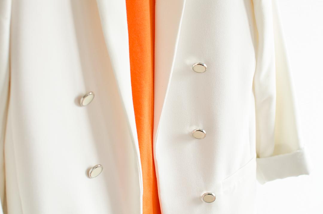Kleurencombinaties | Oranje & wit