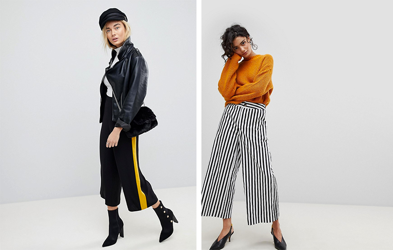 Culottes combineren in de herfst & winter
