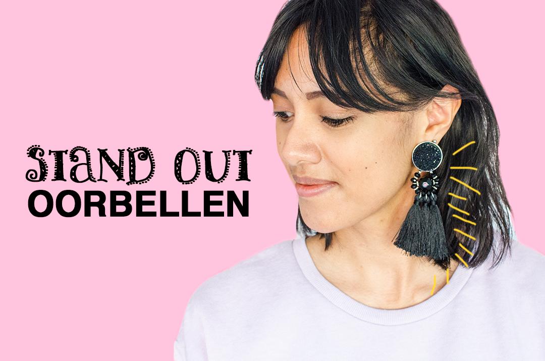 Fashion trend statement oorbellen