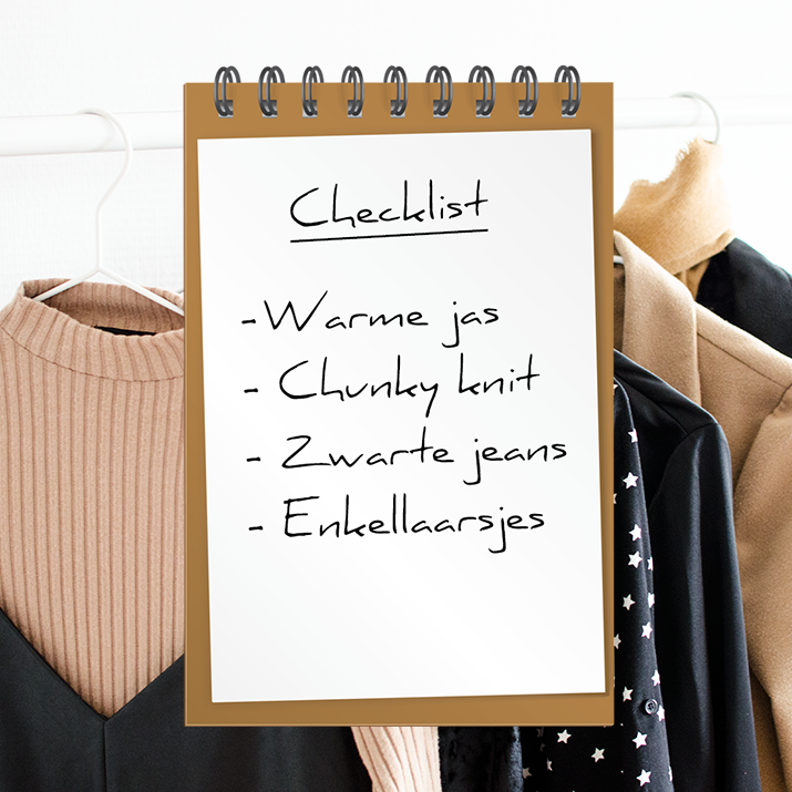 Checklist herfst musthaves