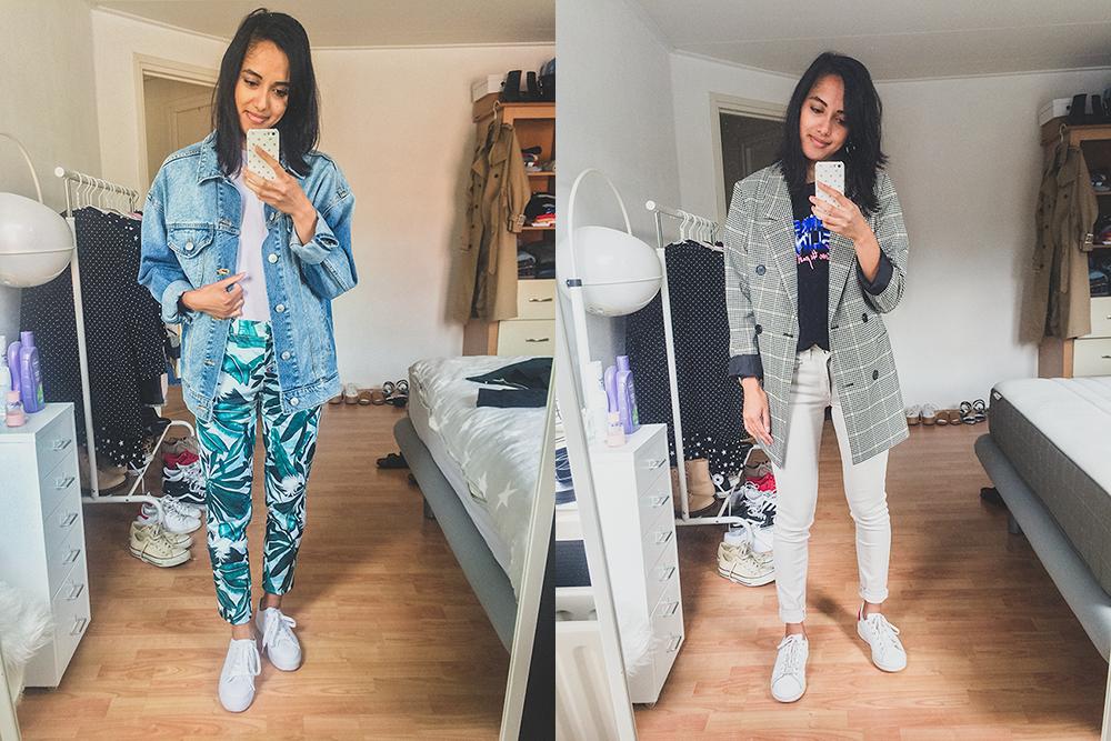 Week in outfits: zaterdag & maandag