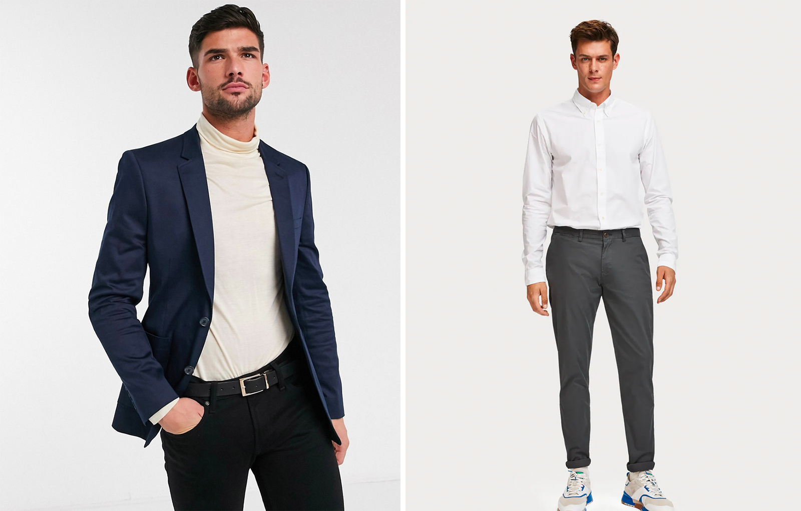 Casual chic heren blazers & heren chino's