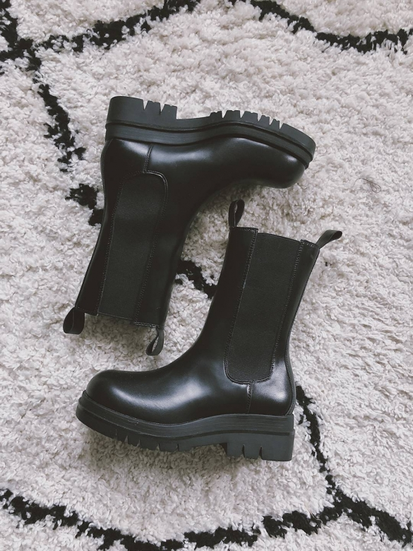 Chunky boots combineren