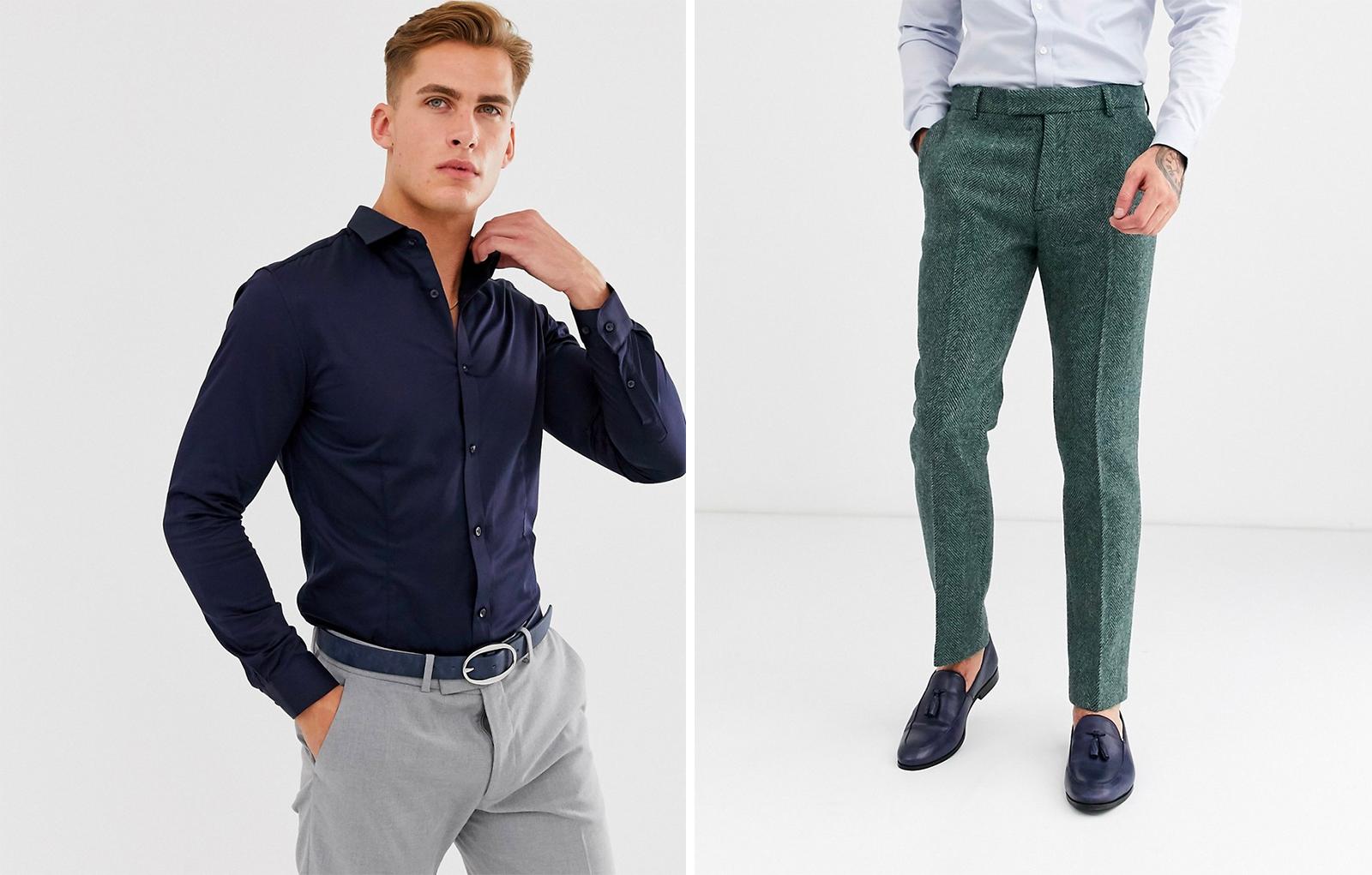 New York chic heren overhemden & pantalons